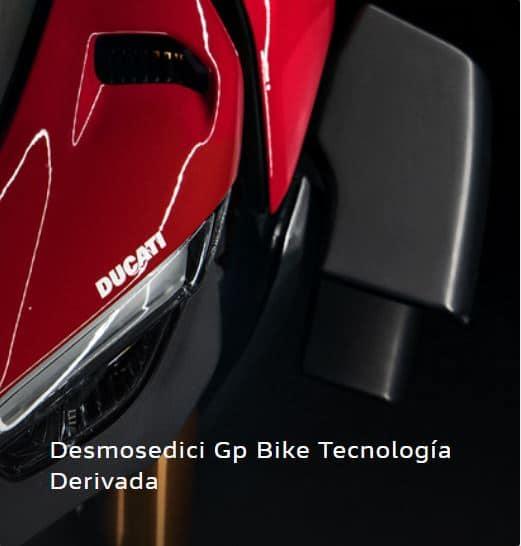 Desmosedici GP Bike Tecnología Derivada