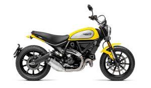 Scrambler Icon Yellow