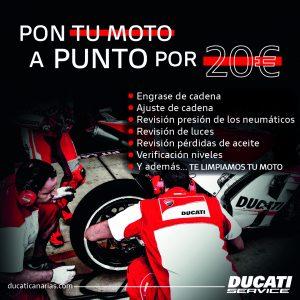Tu Ducati a punto